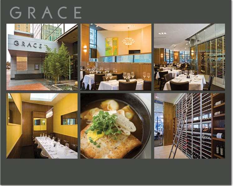 Grace restaurant in Fort Worth, Texas, is a great place for rehearsal dinners, bridesmaids' luncheons and any special dinner!