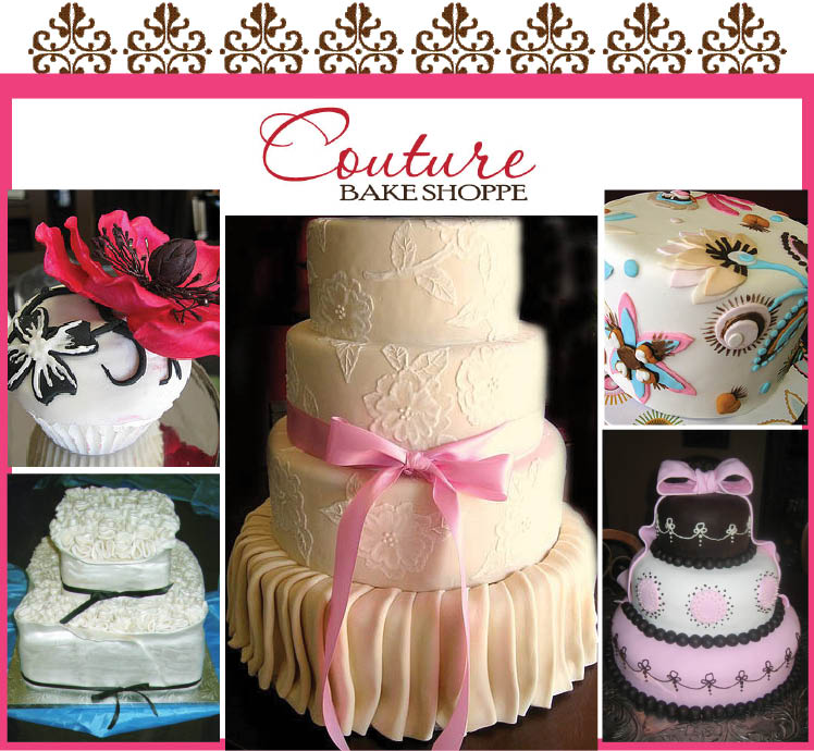 Couture Bake Shoppe in Fort Worth, Texas providing a variety of wedding cake designs