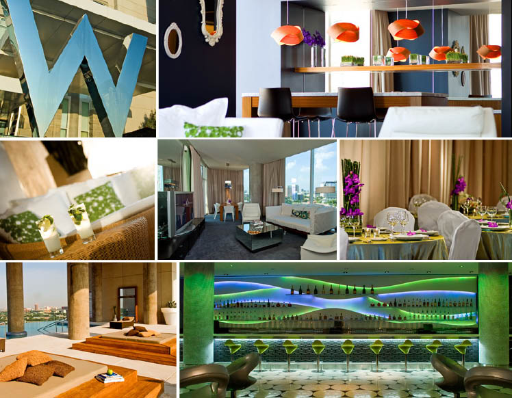 The W hotel located in Dallas, Texas, available for weddings, receptions and guest accommodations