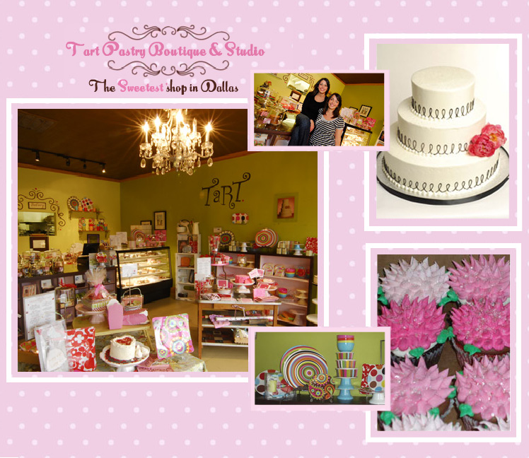 Tart Pastry Boutique and Studio desserts and stationary located in Dallas and Plano