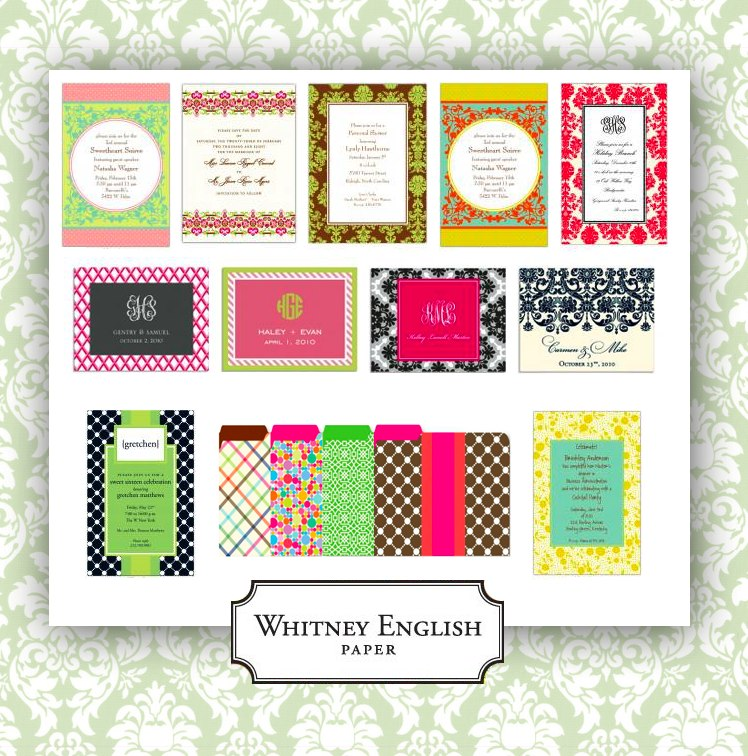 Whitney English Paper Company available all across Dallas and Fort Worth Texas
