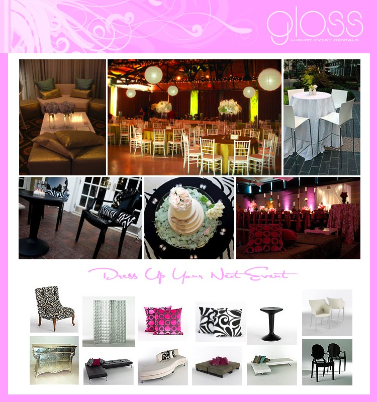 Gloss - Luxury Event Rentals - Texas