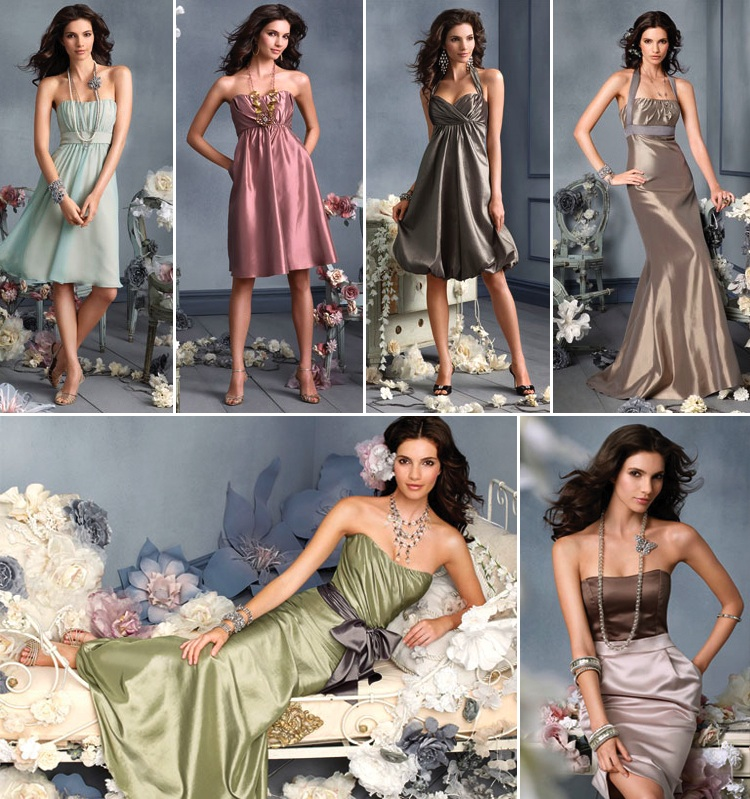 Jim Hjelm Bridesmaids collection