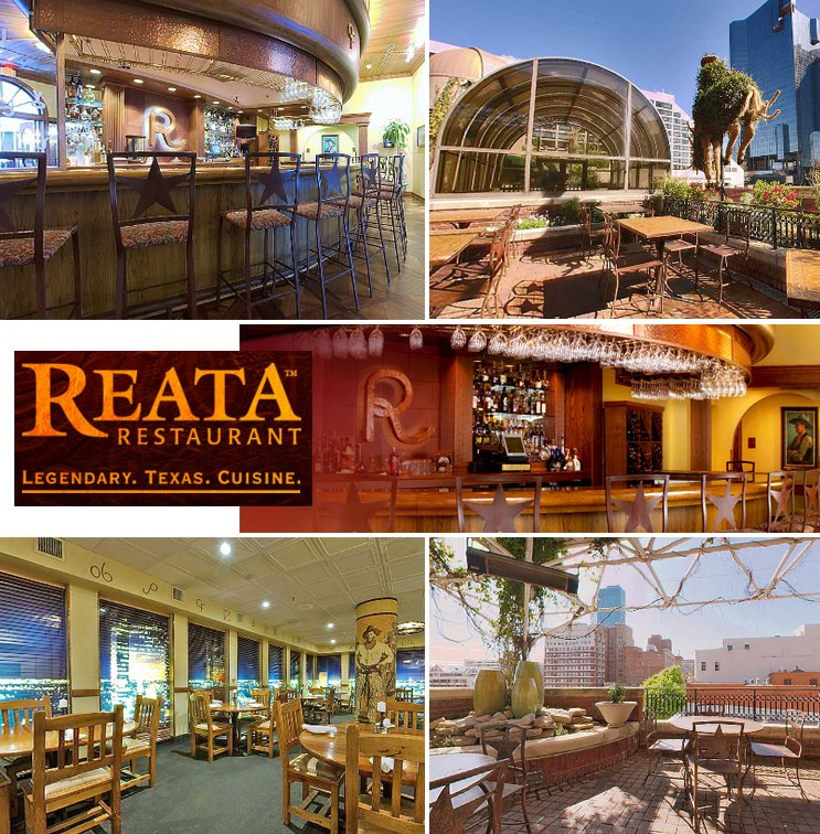 Reata Restaurant in downtown Fort Worth