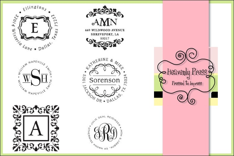 Heavenly Press - Dallas Stationery, Invitation and personalized gift store