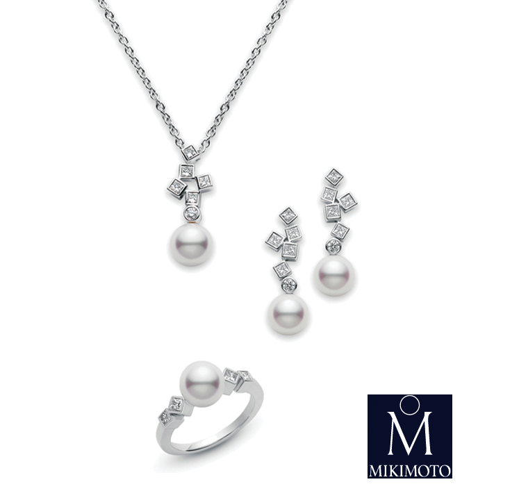 Brides of North Texas + Mikimoto + strand of sophistication