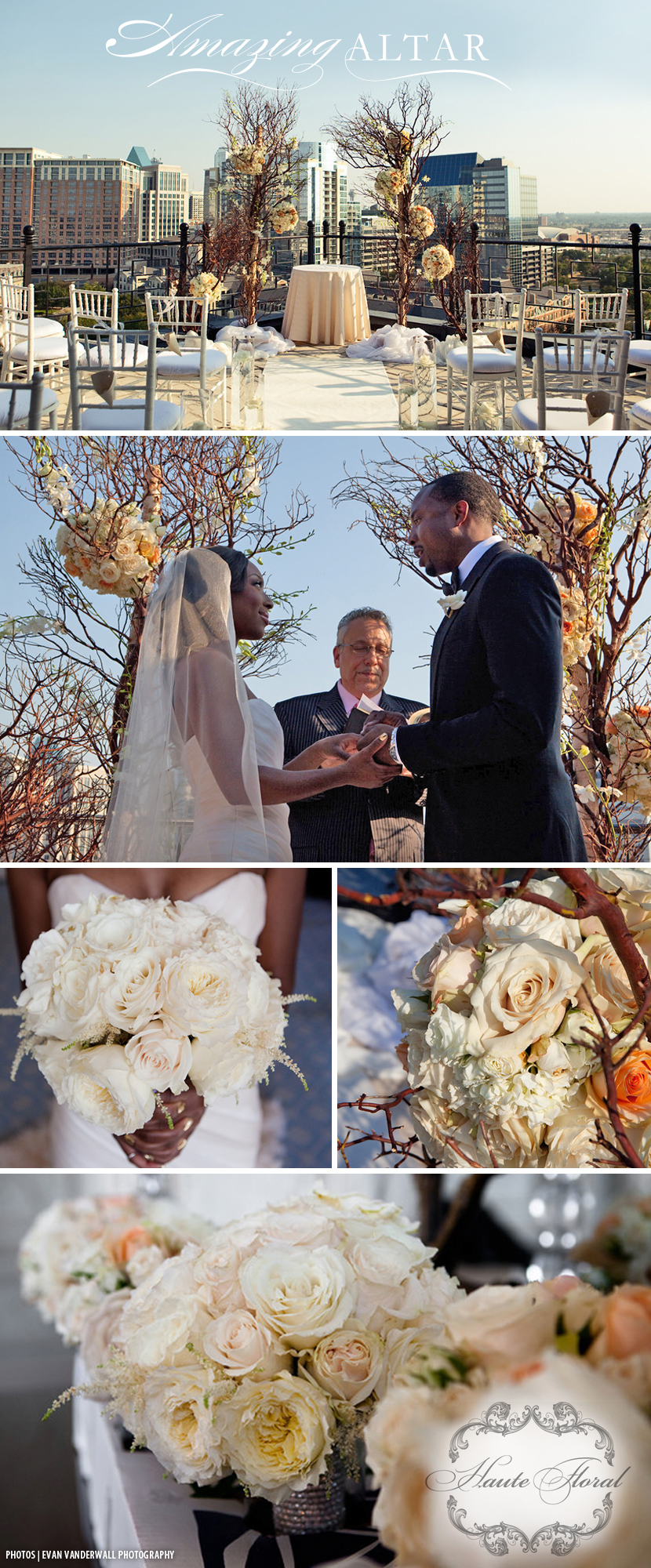 Dallas wedding flowers Haute Floral