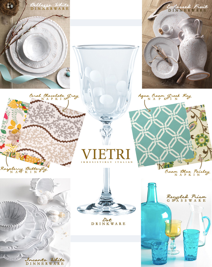 DFW wedding registry items by Vietri