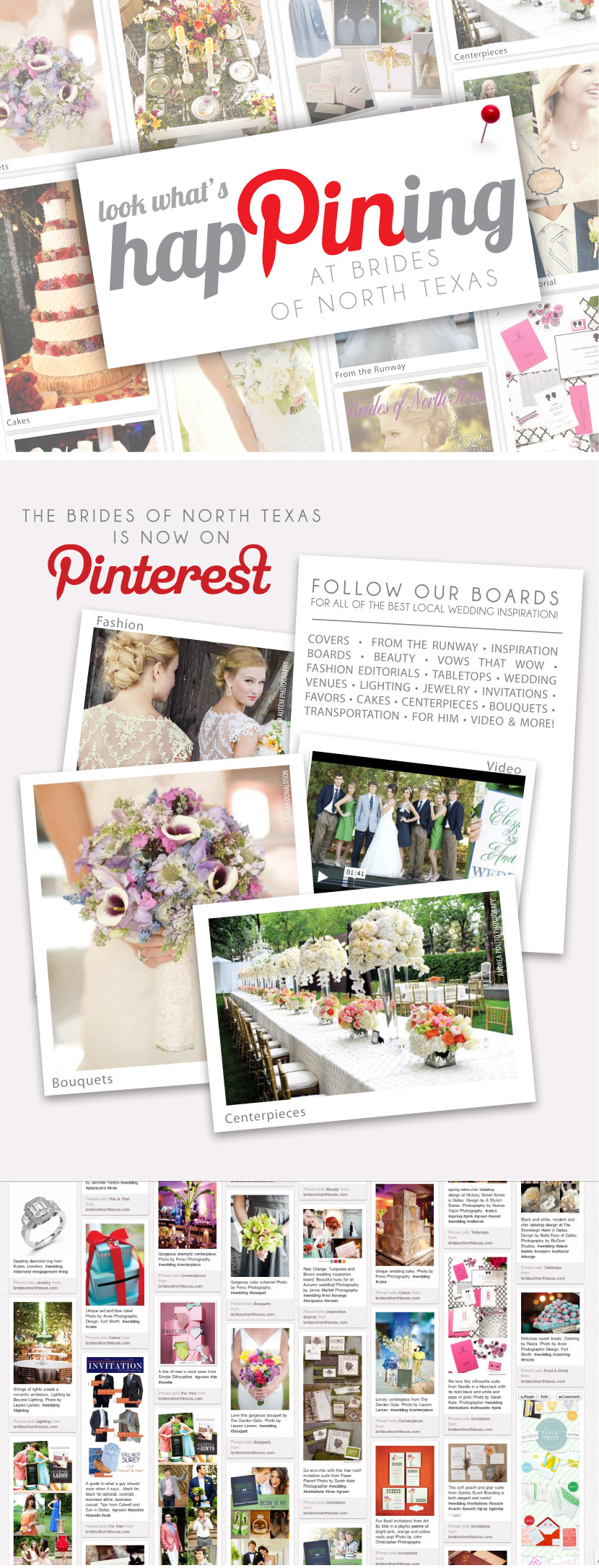 Brides of North Texas is now on Pinterest!