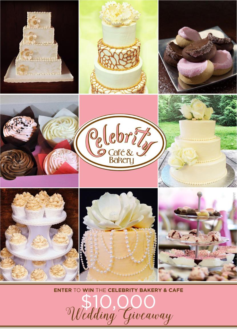 eb82d3049d19 Celebrity Cafe & Bakery Wedding Giveaway