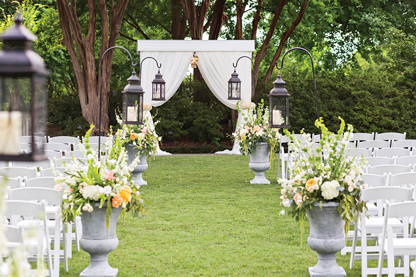 3 lovely north texas garden wedding venues for Beautiful gardens to get married in