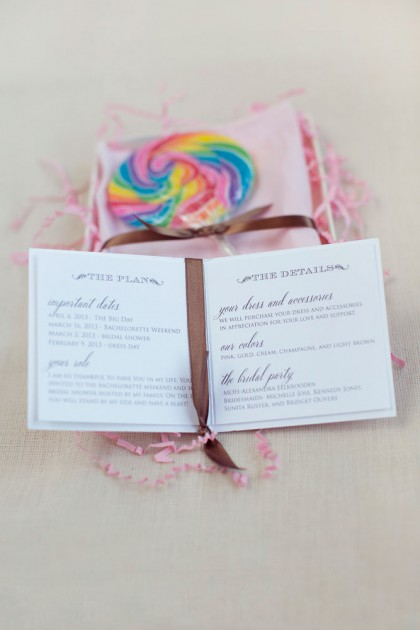 Maid to Order- Bridesmaids Invitations