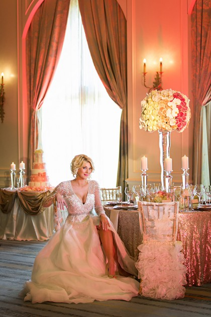 Donnie Brown Weddings and Events | Blushing Elegance