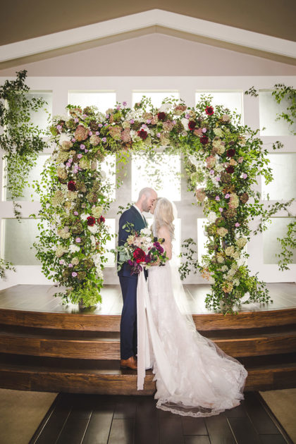 Rachel Lamb And Joshua Brown S Romantic Fall Dfw Wedding