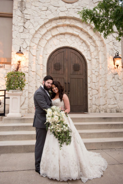 Megan Galloway And Shaun Rowan S Romantic Dfw Wedding At