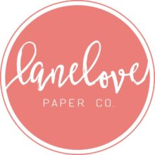 LaneLove Paper Co. Invitations