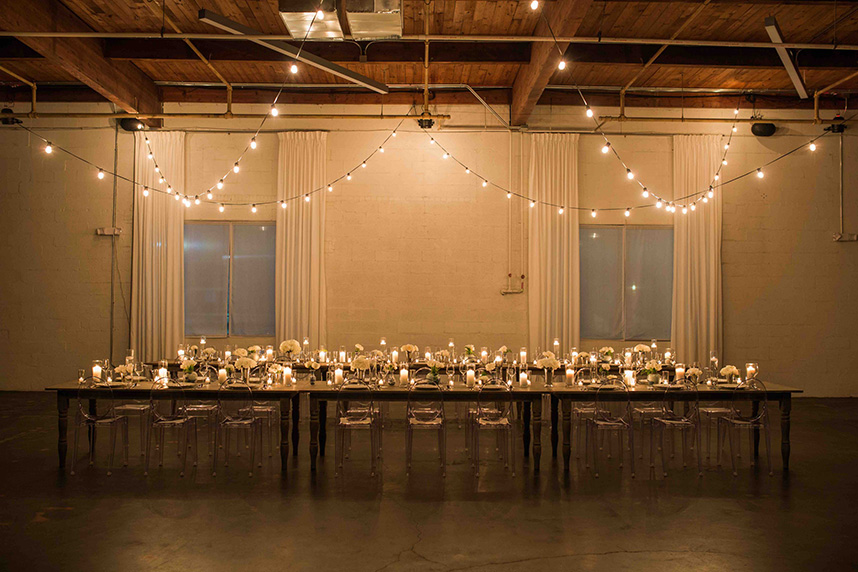 Simple Wedding Venues | Six Clean Space North Texas Wedding Venues