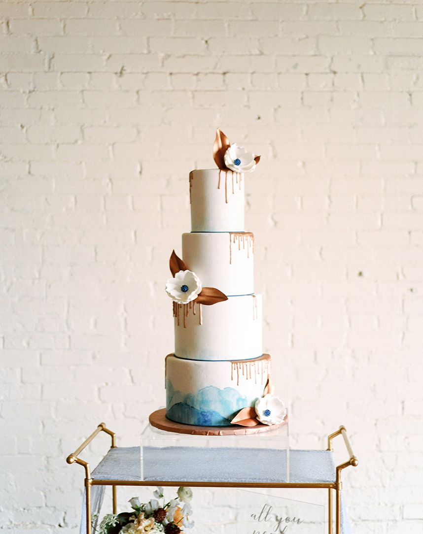 wedding cake and catering trends