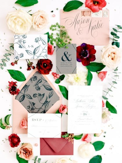 Contemporary Romance Wedding from Silver Lining Events