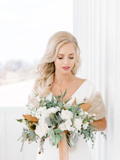 Elegant Winter Wedding Inspiration from Rachel Elaine Photography