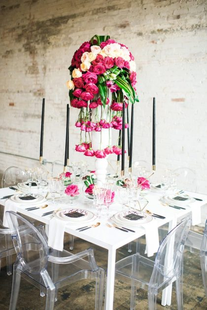 Modern Glam Wedding Inspiration from Weddings by Stardust
