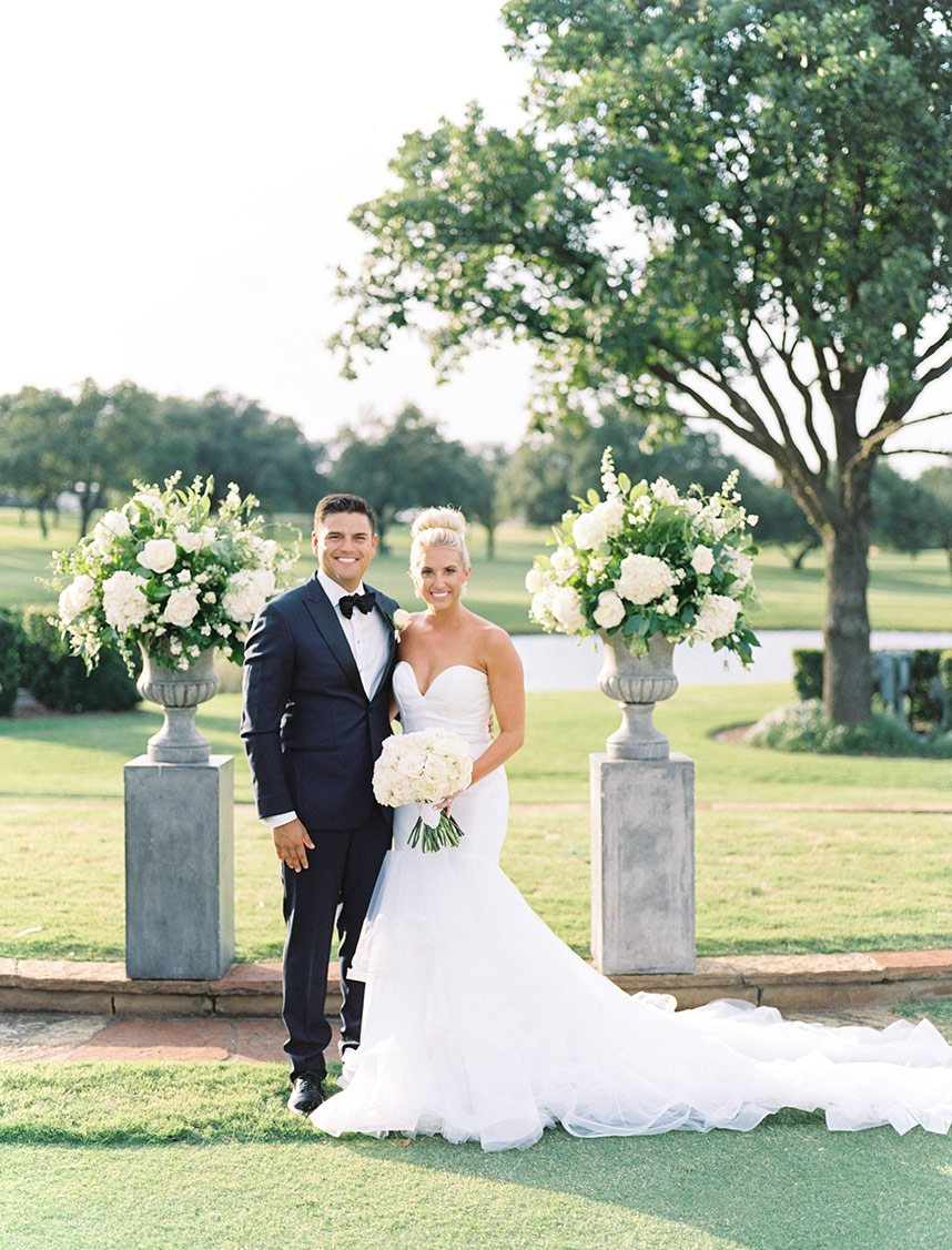 Amanda Weds Christian Tellez | Traditional Country Club Resort Wedding