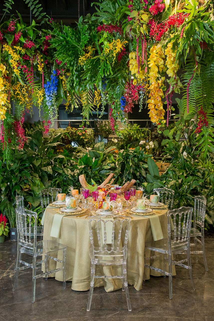 Exotic Tropical Inspired Table Setting From House Of Tales