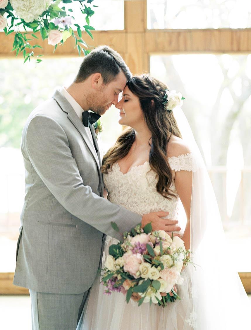 Kayla Wilkie Weds Joshua Drake Romantic Earth Day Inspired Wedding