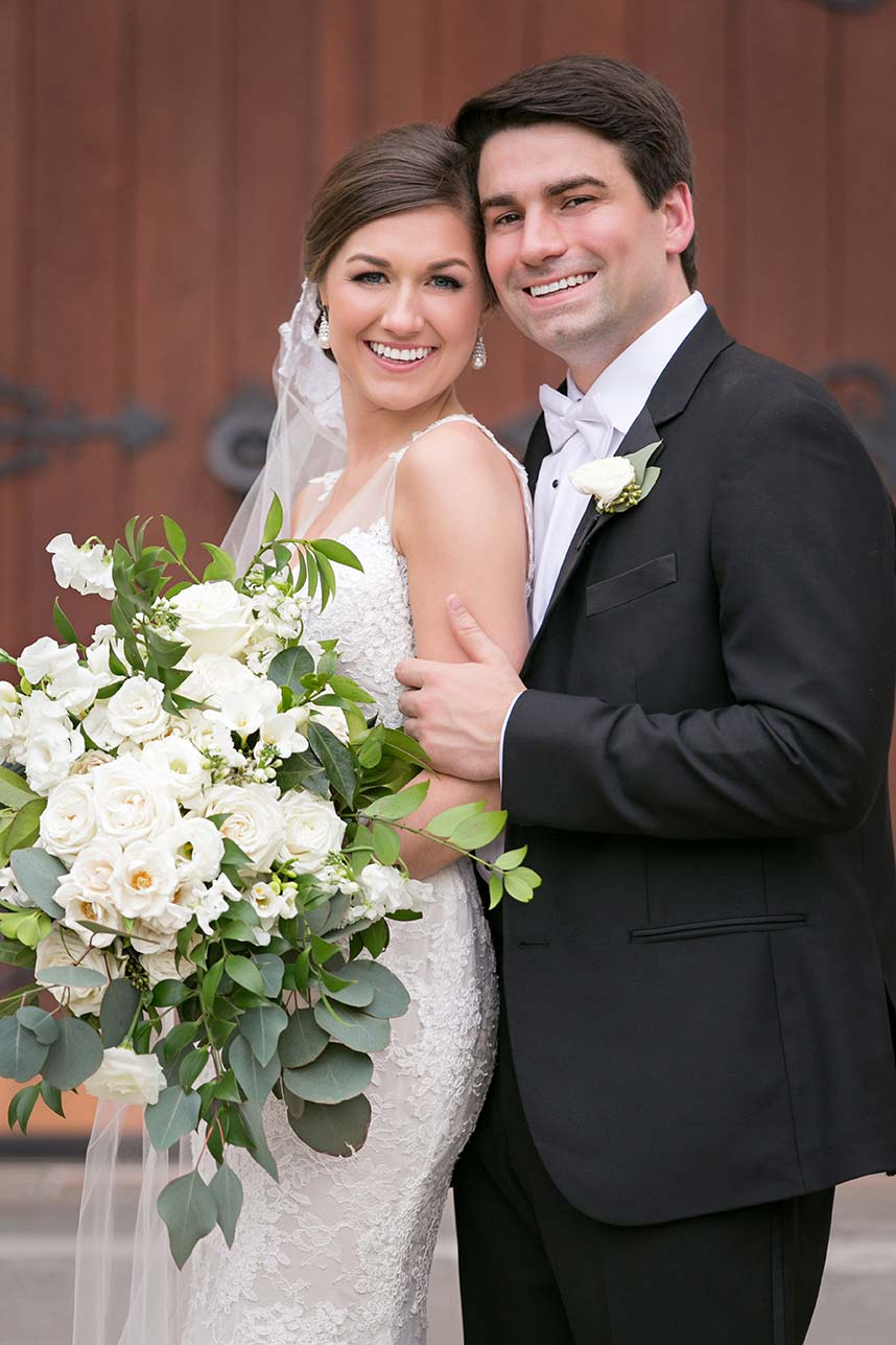 Leigh Robinson Weds Evan Baldwin Classic Wedding at The Fort Worth Club
