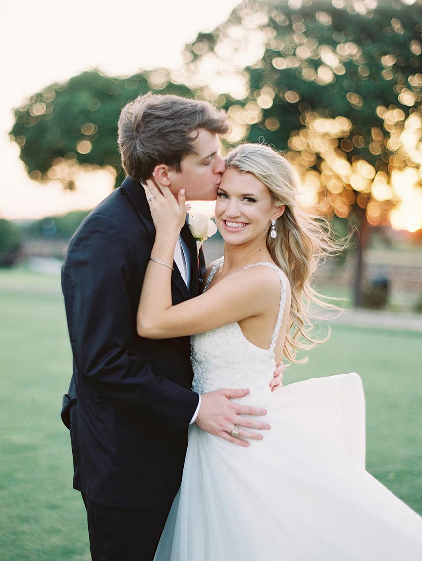 Emily Jenkins Weds Dean Leonard Classic North Texas Ballroom Wedding
