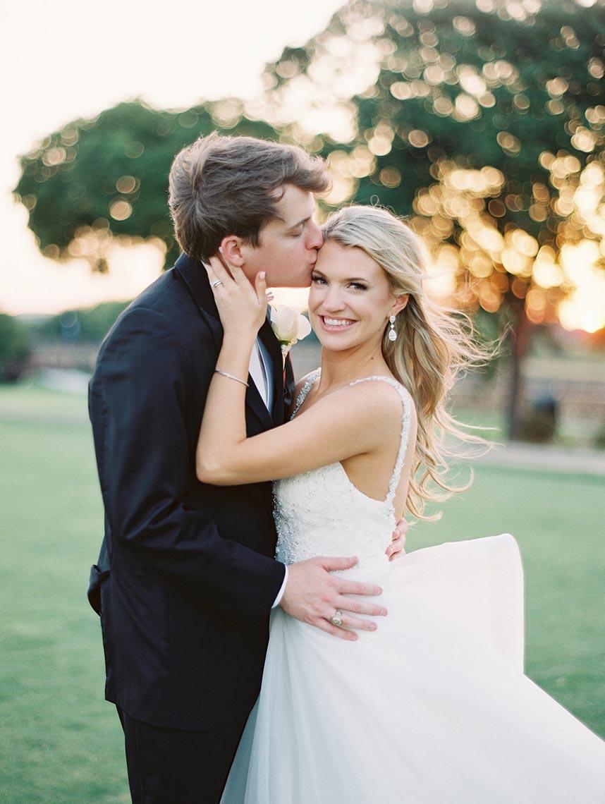 Emily Jenkins Weds Dean Leonard Classic North Texas Ballroom Wedding