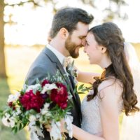 Sarah English Weds Austin Andrew Rustic Romantic Ranch Wedding Captured by Tyler + Lindsey