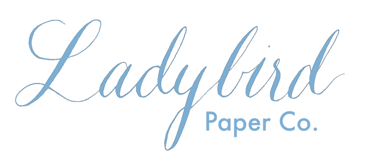 Ladybird Paper Co. - North Texas Wedding Calligraphy