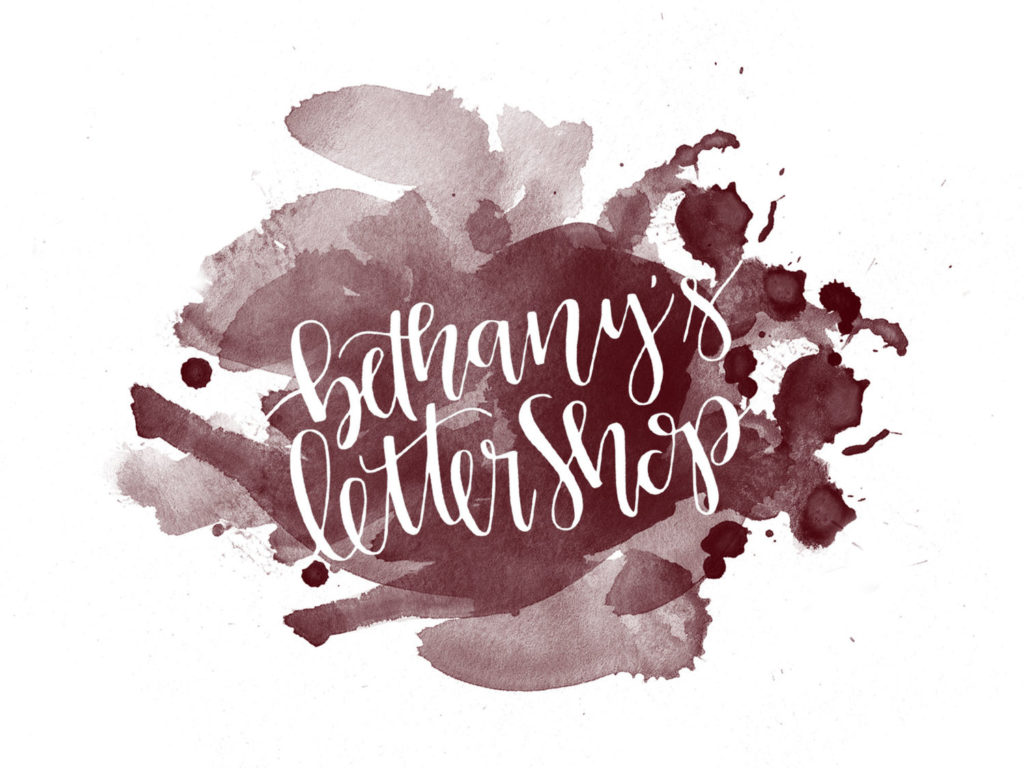 Bethany's Letter Shop - North Texas Wedding Calligraphy