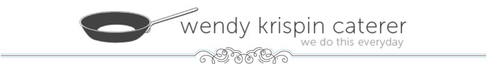 Wendy Krispin Caterer - North Texas Wedding Catering