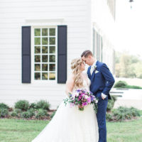 Rochelle Hooper Weds Eric Aschman Charming Lavender & Fuchsia Wedding Captured by Tyler + Lindsey