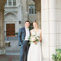 Mallory Honey Weds Price Buckley Organic Industrial Fort Worth Wedding