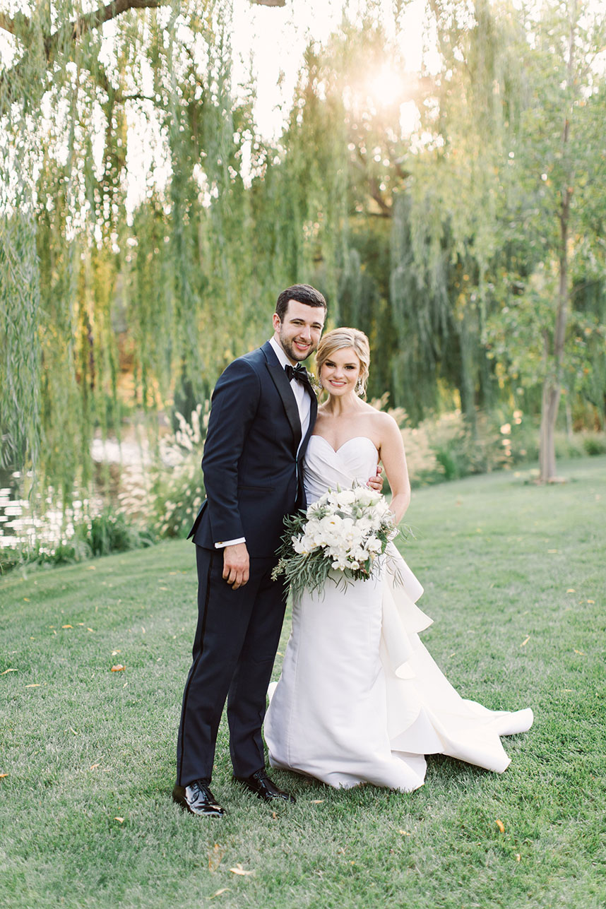 Haley Green Weds Ellitt Braud Stylish Napa Destination Wedding