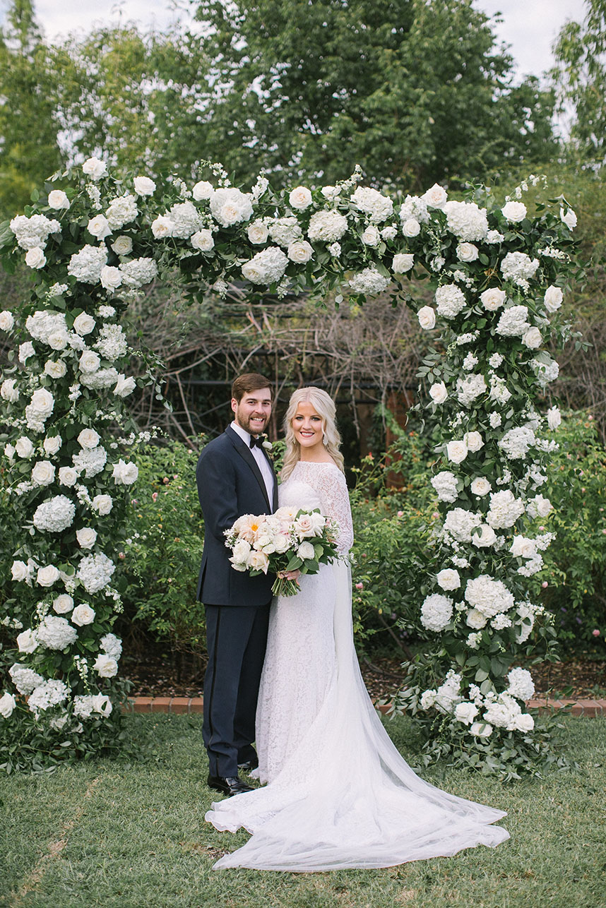 Kelsey Meloy Weds Steven Hokit Blush and Gold Outdoor Wedding from Shannon Rose Events