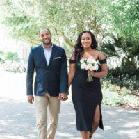 Melanie + Auggie's Gorgeous Dallas Arboretum Engagement Shoot North Texas Wedding Photographer Devin Ashley Photography