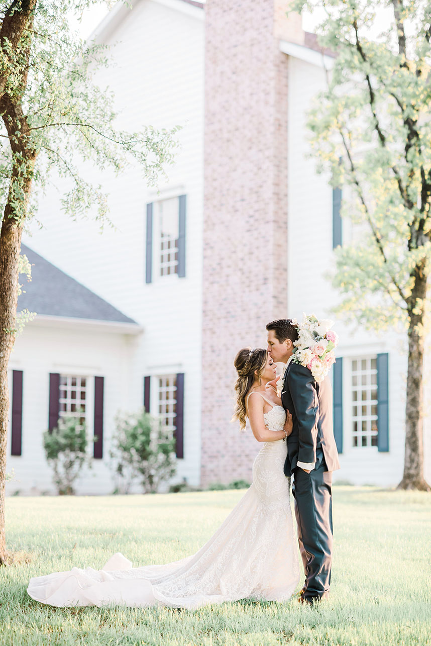 Maegan Westbrook Weds Tommy Adams Pastel Watercolor Wedding from Alba Rose Photography