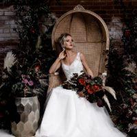 Moody Bohemian Wedding Inspiration at Monroe Pearson
