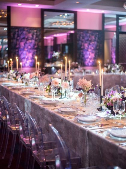 Jewel-Toned Glam at The Joule's Fam Event: A Luxury Wedding Planner Open House
