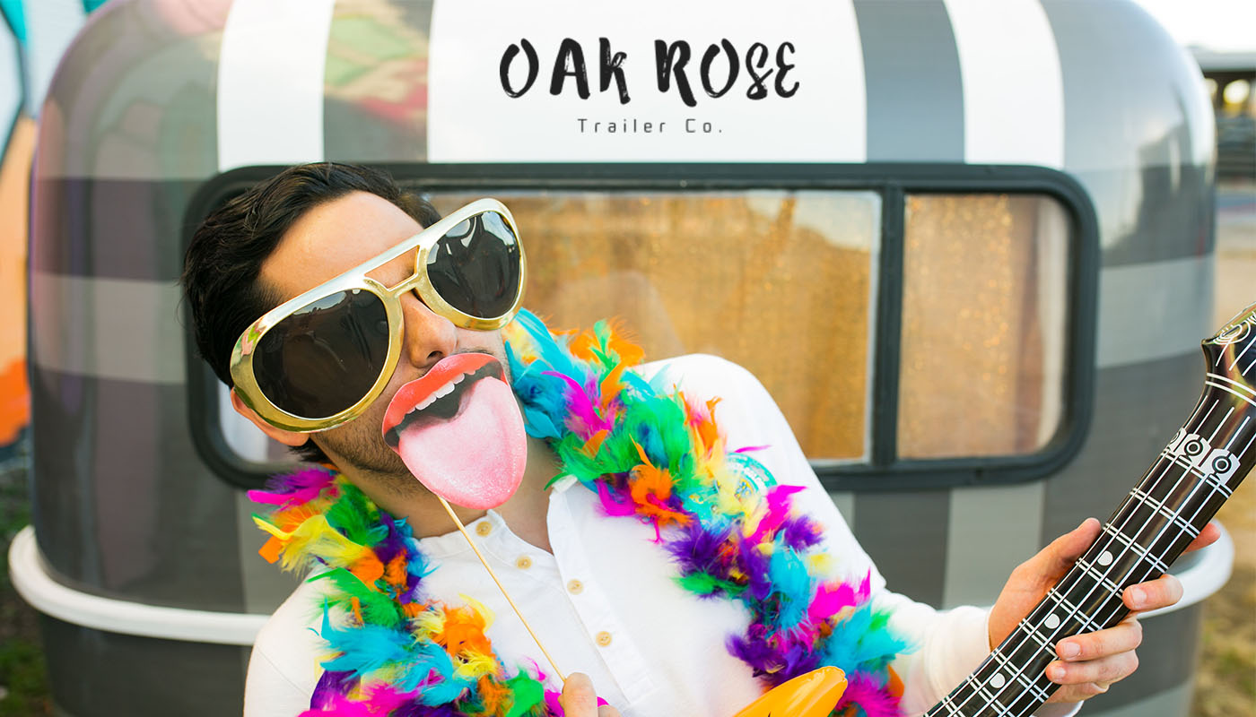 Oak Rose Trailer Co. Photo Booth