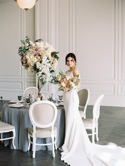 French Ethereal Ballroom Inspired Wedding from Shannon Rose Events