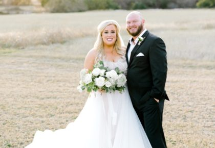 Adrian Johnston Weds Waine Close Southern Ranch Wedding from Events by Jade