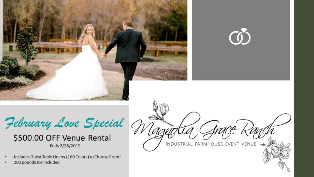 Magnolia Grace Ranch - North Texas Wedding Venues