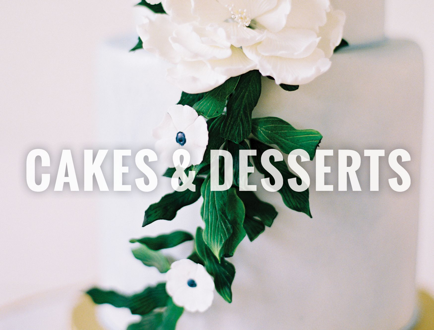 North Texas Wedding Cakes & Desserts