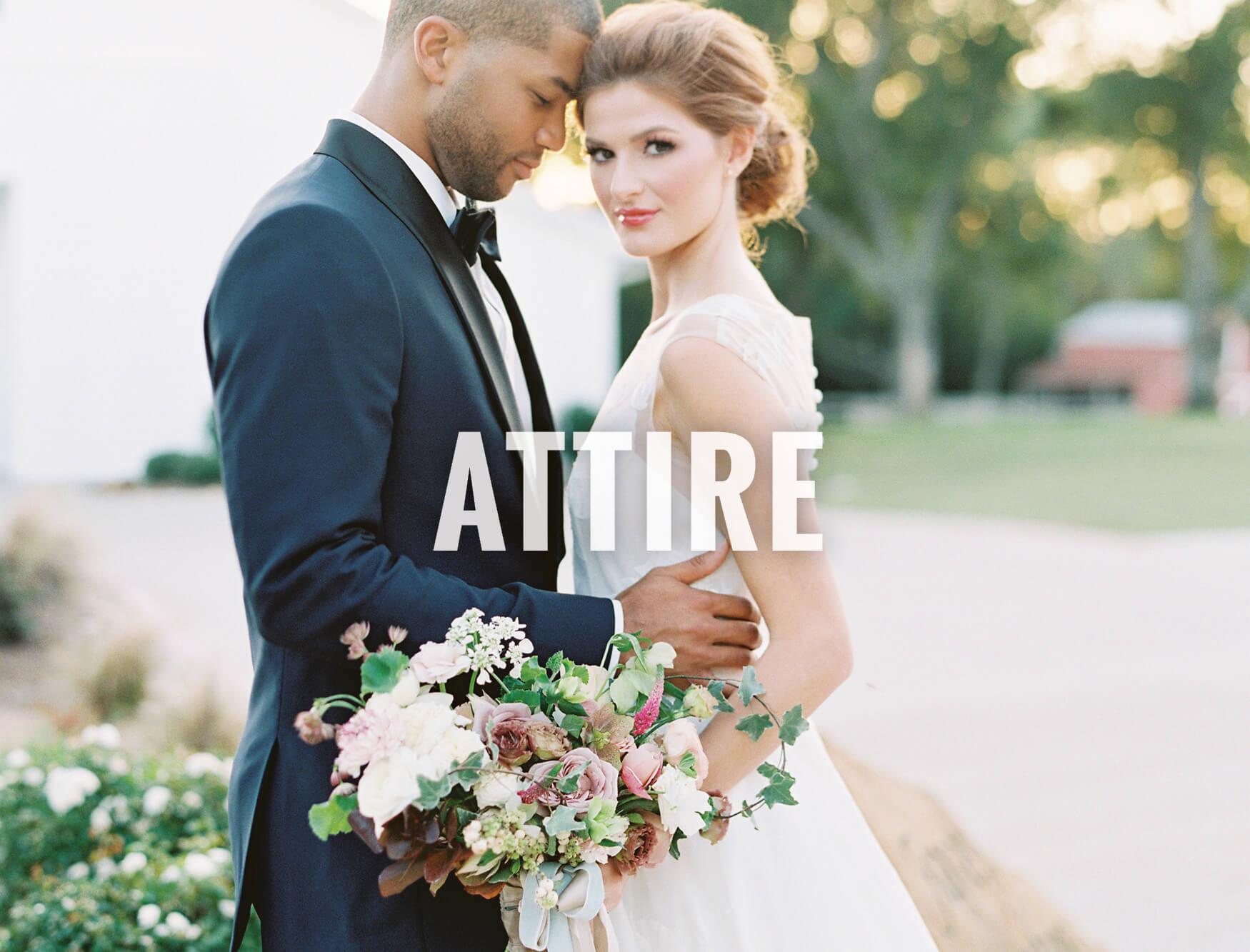 North Texas wedding attire