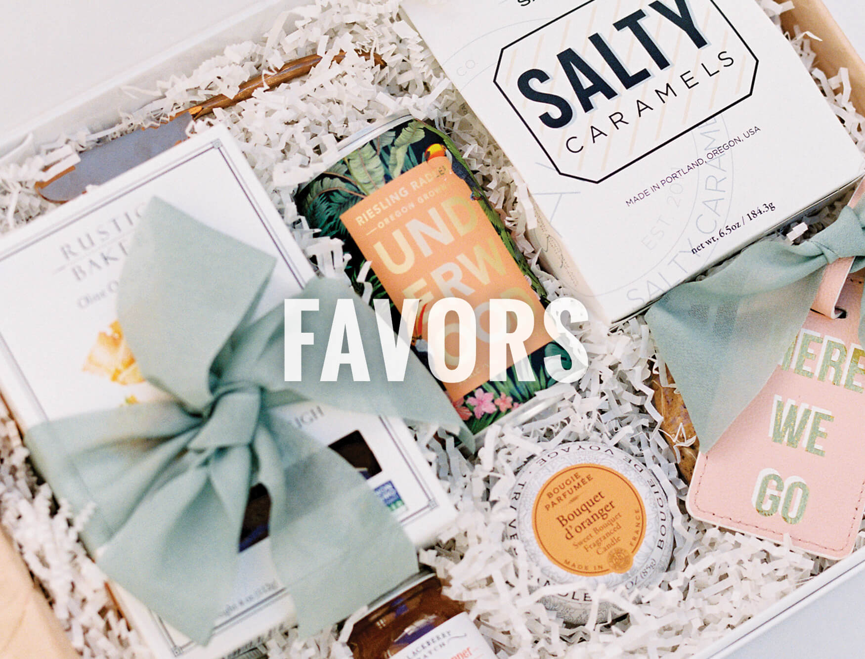 North Texas Wedding Favors